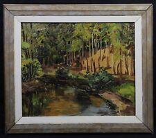 Lucien POTRONAT (1889-1974) Paysage des Alpilles en Provence Saint-Rémy Les baux