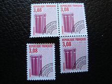 FRANCE - timbre yvert et tellier preoblitere n° 218 x4 n** (dent 13) (A24) (A)