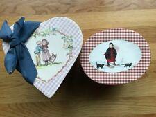 2 Tasha Tudor Illustrated Boxes Jenny Wren Press Laura in the Snow First Kiss