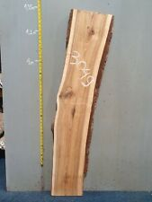 Waney Edge Live Edge Walnut Slab Board Kiln Dried Hardwood 1310 x 250-280 x 50mm