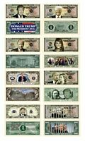 Donald Trump 45th President Collectors 8 Bill Set: Commander In Chief Bill, 2...