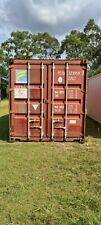 Shipping Containers 20'GP, 3 avail, certified cargo worthy, as pictured Brisbane