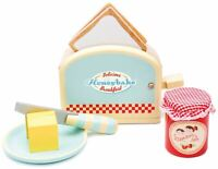 Le Toy Van HONEYBAKE PLAY TOASTER AND TOAST Wooden Toy BN