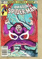 Amazing Spider-Man #241-1983 fn/vf 7.0 Spiderman Vulture John Romita Jr