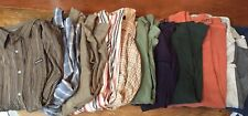 Lot Of 11 Men's Long Sleeve Shirts Xxl 2Xl 2X Casual Mixed Excellent Condition