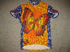 Primal Wear Flutter By Butterfly Women's Cycling Jersey S Bike Bicycle Running