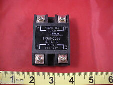 Fuji EXRS-220C Solid State Relay SSR Input DC3-28v Load AC220v 20A Electric Nnb