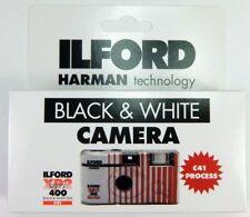 Ilford appareil jetable noir et blanc XP2 400 ISO 27 poses utilisable 12/2020