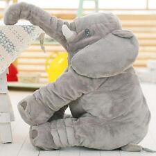 Long Nose Elephant Pillow Doll Soft Plush Stuff Toys Pillow Lumbar For Kids Baby