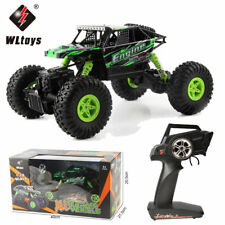 Wltoys 18428-B 1:18 Radio Remote Control 2.4G 4WD RC Off-road Car Crawler Gifts