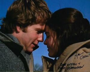 GFA Love Story '70 Movie ALI MacGRAW & RYAN O'NEAL Signed 8x10 Photo L4 COA