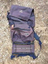 Mountain Crest Blue Backpack Hiking Trail Bag