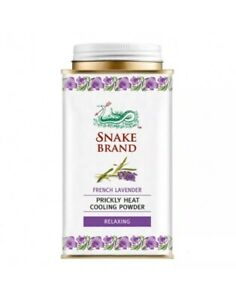 Lavender Prickly Heat Body Powder 140g Soothing Fresh  Cool Summer & Relax