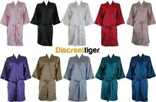 Polyester Patternless Robes for Women