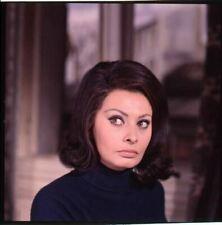 Sophia Loren striking pose Operation Crossbow Original 2.25 x 2.25 Transparency