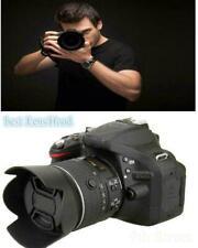 Lens Hood for Nikon HB-69 AF-S DX NIKKOR 18-55mm f/3.5-5.6G VR II D3200 D52 R3B4