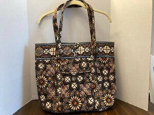 Vera Bradley VERA Tote bag purse - Canyon pattern  - brown