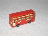 Vintage Matchbox Superfast Die Cast Metal Toy Bus The Londoner #17 Lesney 1972