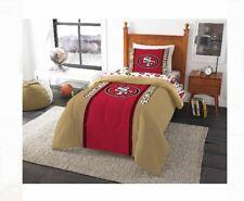 San Francisco 49ers Sf Niners Nfl Comforter Bedding Sheet Set Bed in a Bag Twin