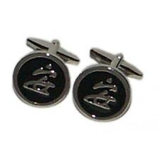 Chinese Characters Cufflinks Restaurant Worker Cruise Party Present Gift Box