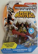 STARSCREAM Transformers Prime Beast Hunters Deluxe Class Figure #5 Series 2 2013