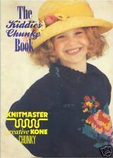 The Kiddies Chunky Book - Knitting Machine Patterns