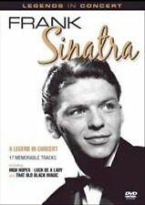 A Legend in Concert by Frank Sinatra The Vintage Years DVD 2011 Kelso Vg Cond