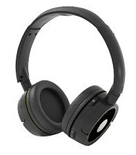 Supersonic Iq-124Bt Bluetooth Rechargeable Headphone w Speaker - Black Brand New