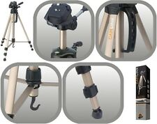 NEW CAMLINK 1.56M, 1.36KG TP2500 TRIPOD WITH 3 WAY PAN/TILT HEAD & CARRY CASE