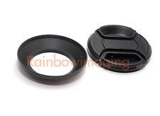 Metal Lens Hood + Cap for Sony 16-50mm f/3.5-5.6 OSS Alpha E-mount No Vignetting