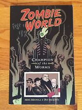 Dark Horse Comics ZOMBIE WORLD: CHAMPION OF THE WORMS TPB Mike Mignola 1998