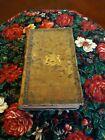 Antique early19th Century French Leather Book Safe Hidden Stash Compartment Old