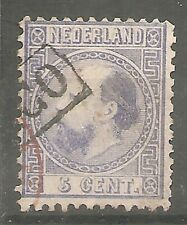 nederland   7 I-A gestempeld  c.w.  €  35,00 deel rood stempel