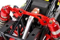 CNC Alloy Porous Adjustable Rear Shock Brace for 1/5 Rovan KM HPI BAJA 5B 5T 5SC