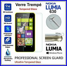 NOKIA 630 Tempered Glass Vitre de protection d'écran en VERRE TREMPE