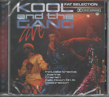 Kool and the Gang Live Fat Selection CD NEU Celebration - Cherish - Fresh Joana