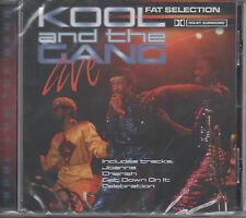 Kool and the Gang Live Fat Selection CD NEU Celebration - Cherish - Fresh Joana