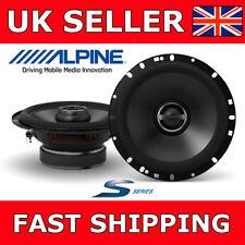 "Alpine S-S65 Coaxial 2-Way 6.5"" 16.5cm S-Series Car Van Speakers Peak Power 240W"