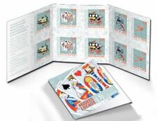 Luxembourg  2016 museums  playing cards train airplane carriadge booklet  mnh us