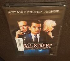 Wall Street (DVD, Widescreen) classic original Michael Douglas 1987 movie NEW