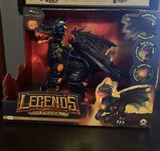 Untamed Legends Dragon - Vulcan Interactive Toy - Dark Blue new FAST SHIPPING