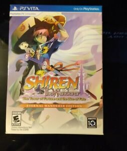 Shiren the Wanderer: The Tower of Fortune and the Dice of Fate PsVita