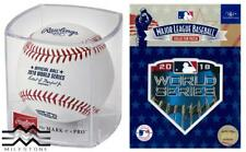 Rawlings Officially Licensed 2018 MLB World Series Cubed Baseball & Patch