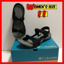 COLUMBIA Women's Sunlight Vent II Strap Sandal Charcoal (Black) Size 11 NIB