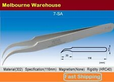 VETUS Original Genuine High Quality Stainless Steel Switzerland Tweezers 7-SA AU