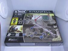 K 'nex contra entrega Titanfall Militia Pilot Juego de construcción de ataque 97 un.