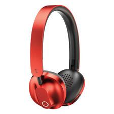 Baseus Bluetooth Wireless Headset Foldable  Headphones Phone PC Earphone RED