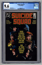 L8320 : Suicide Squad #1 , Volume 1, Graded 9.6 Cgc