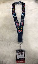 Official New York Comic Con Lanyard And THURSDAY Pass Ticket Badge  - NYCC 2019