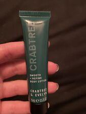 Crabtree & Evelyn Smooth + Refine Body Lotion - Mini Size 0.5 fl oz./15ml Sealed